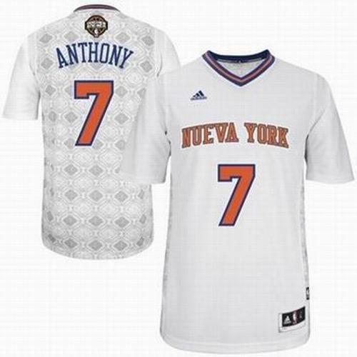 reputable site 81e90 be272 New York Knicks 1# Amar'e Stoudemire Crazy Light Swingman ...
