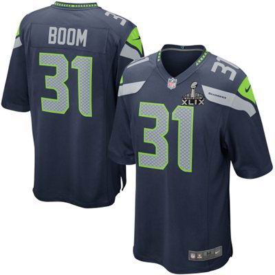 16720ca96 2015 Super Bowl XLIX Jersey Nike Seattle Seahawks 31  Kam Chancellor Legion  of Boom blue