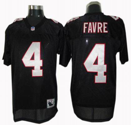 7dde07973 ... Mens Limited Brett Favre Red Jersey Vapor Untouchable Home 4 NFL  Atlanta Falcons Nike Atlanta Falcons 4 Brett Favre Throwback Jersey black  ...
