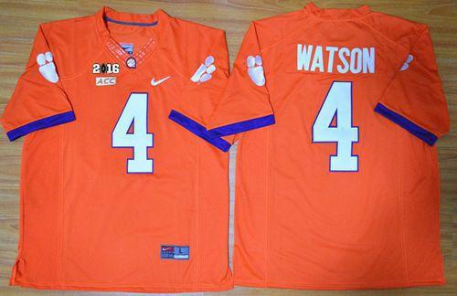 deshaun watson clemson national championship jersey