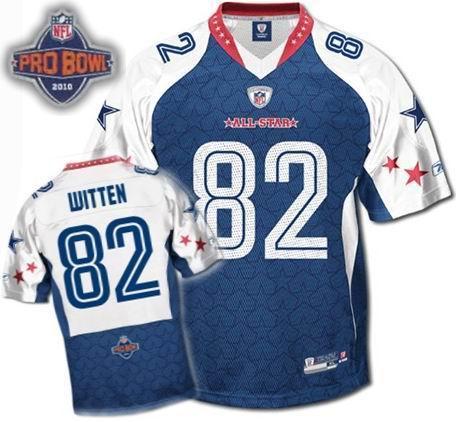 3c3ccfeb38d Dallas Cowboys #82 Jason Witten 2010 Pro Bowl