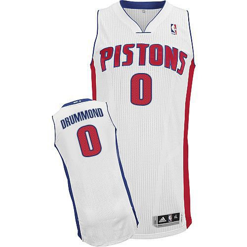 Detroit Pistons 0 Andre Drummond White NBA Jersey 194230a8a
