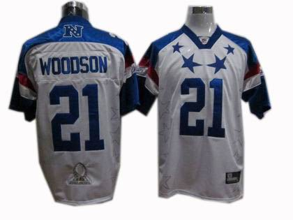 e6f9ac511 Green Bay Packers #21 Charles Woodson 2011 Pro Bowl NFC Jersey
