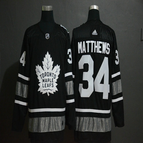 Maple Leafs 34 Auston Matthews White 2019 NHL All-Star Adidas Jersey 86f4276c8