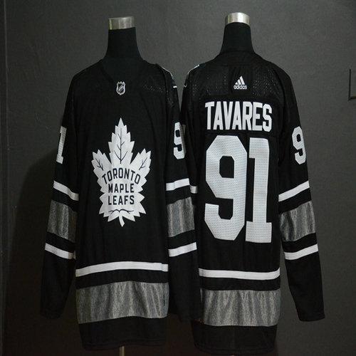 Maple Leafs 91 John Tavares Black 2019 NHL All-Star Adidas Jersey 14f94cd28