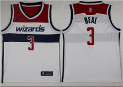 Men s Nike Washington Wizards  3 Bradley Beal White Association Edition NBA  Swingman Jersey 104e15e17