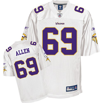 Top Minnesota Vikings 69# Jared Allen realtree jersey  free shipping