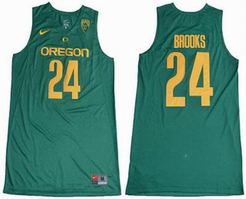 competitive price 1ad82 b7bef NCAA Oregon Ducks #24 Dillon Brooks Dark Green College ...