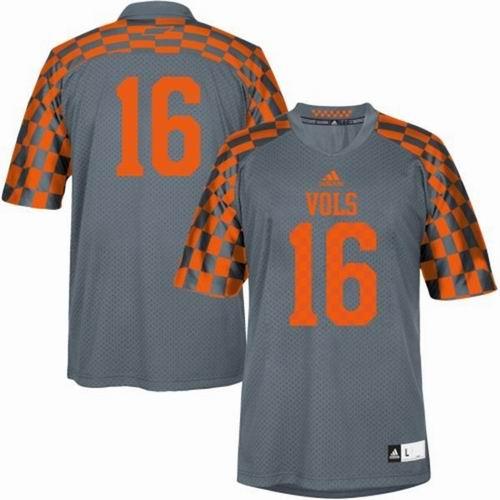 detailed look 9d6e3 40b20 NCAA Tennessee Volunteers #16 Peyton Manning 2014 Alternate ...
