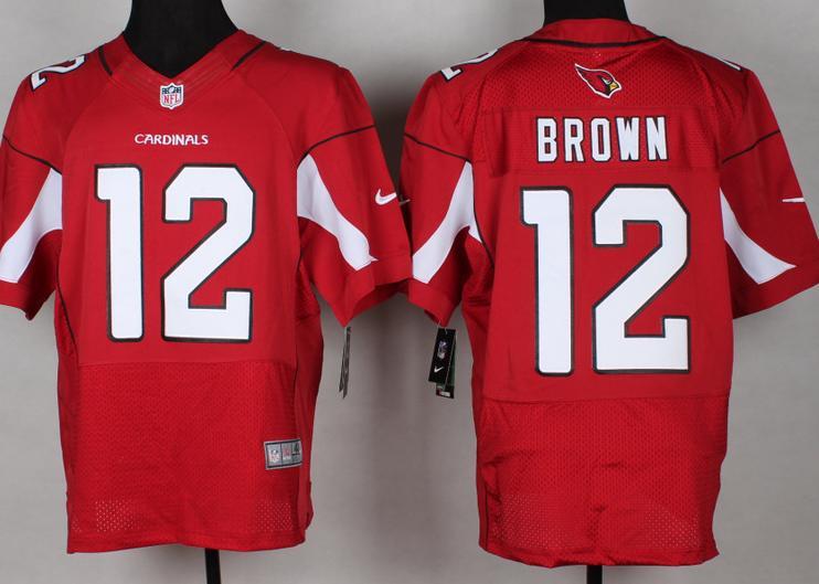 78951c5b7e35 Nike Arizona Cardinals 11 Larry Fitzgerald Black Signed Elite NFL ...