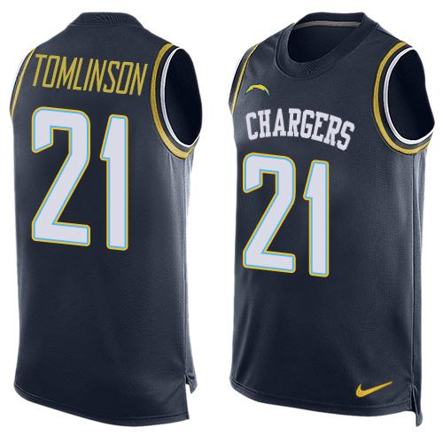 more photos 136cd be708 Nike Chargers 21 LaDainian Tomlinson Green NFL Limited ...