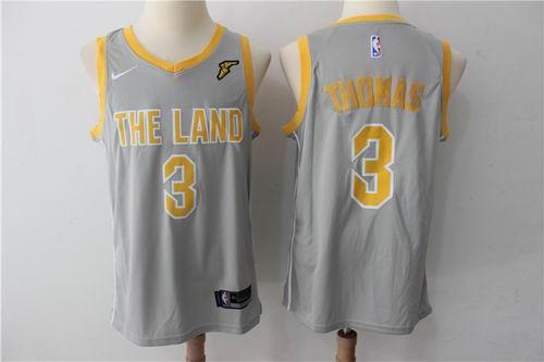 74b29f21d7e ... where to buy nike cleveland cavaliers 3 isaiah thomas gray nba swingman  city edition jersey d1fa8