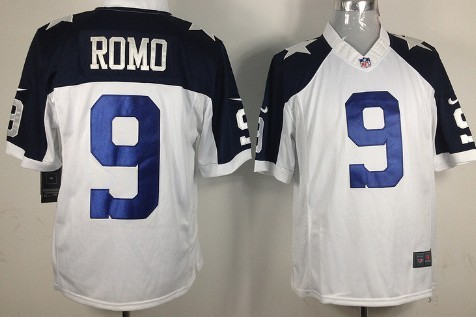 9c78450ab60 ... promo code for nike dallas cowboys 9 tony romo white thanksgiving mens  game nfl jersey a4bd4