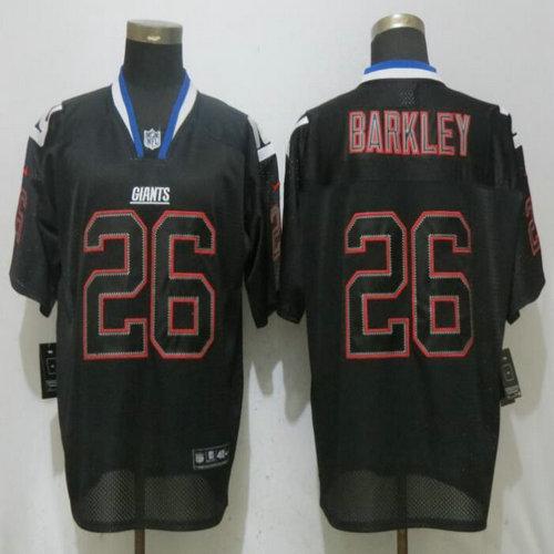 buy online 2c1d5 db309 Nike Giants #26 Saquon Barkley Red Drift Fashion Elite Jersey