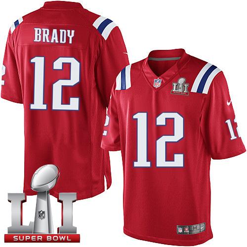 the best attitude d65d1 5b369 Nike Patriots #12 Tom Brady Gray Super Bowl LI 51 Limited ...
