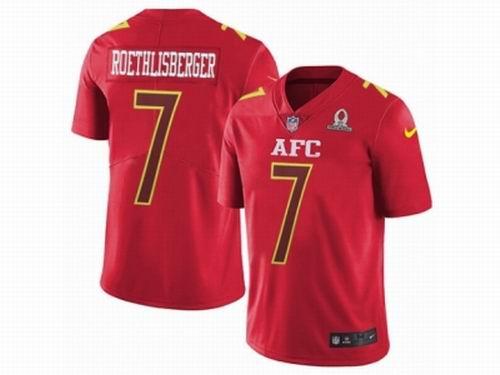 huge discount 95137 64eb7 Nike Pittsburgh Steelers #7 Ben Roethlisberger Limited Red ...