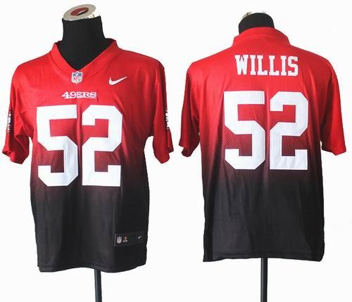 quality design 137a5 cc304 Nike San Francisco 49ers #94 Justin Smith Red Elite Drift ...