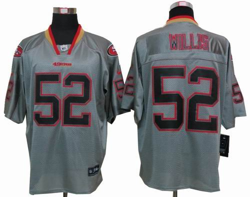 quality design e5829 b87bc Nike San Francisco 49ers #94 Justin Smith Red Elite Drift ...