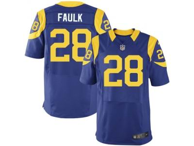 youth nike st. louis rams 28 marshall faulk elite white nfl jersey sale 79a970c65