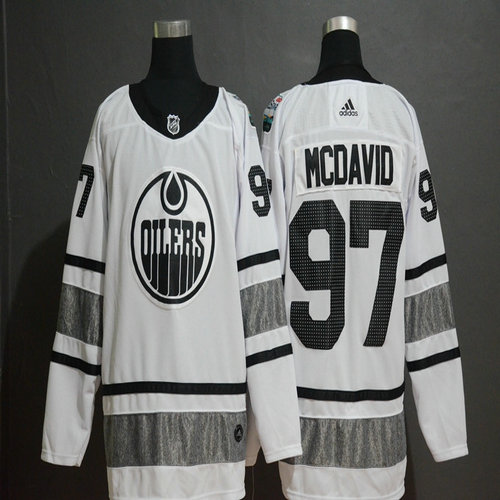 Oilers 97 Connor McDavid White 2019 NHL All-Star Game Adidas Jersey 9b9d4bdcc