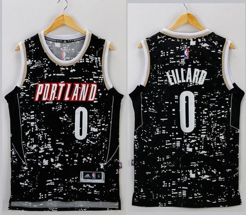 ... Edition Swingman Jersey  shopping Portland Trail Blazers 0 Damian  Lillard Black City Light NBA Jersey f0304 6a3d5 ... 2532e061b
