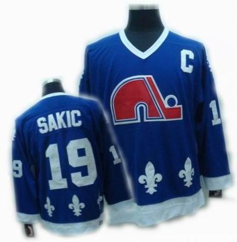 best service 3f909 af5c3 cheap Quebec Nordiques jeresy #13 mats sundin blue CCM Jersey