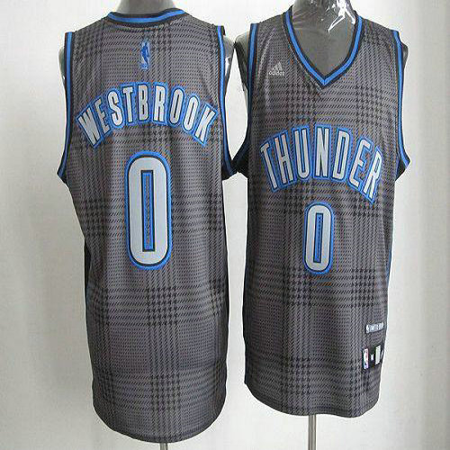 Thunder  0 Russell Westbrook Black Rhythm Fashion Stitched NBA Jersey 548b191be