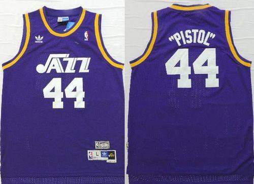 9d8b73174 ... utah jazz 44 pete maravich purple pistol soul swingman nba jersey