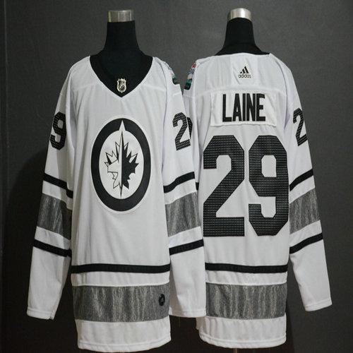 Winnipeg Jets 29 Patrik Laine White 2019 NHL All-Star Adidas Jersey edf8a9a23