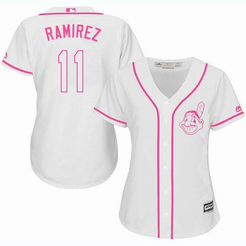 reputable site 01afa 606be Women Cleveland Indians #99 Ricky Vaughn Pink Fashion Jersey