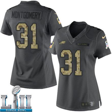 quality design 646f8 80353 Women Eagles 2018 Super Bowl LII Jersey