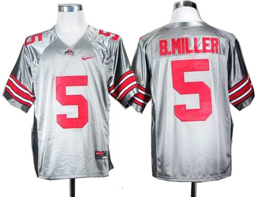 new concept 30aa3 87f6c ncaa Ohio State Buckeyes Braxton Miller 5 Grey College ...