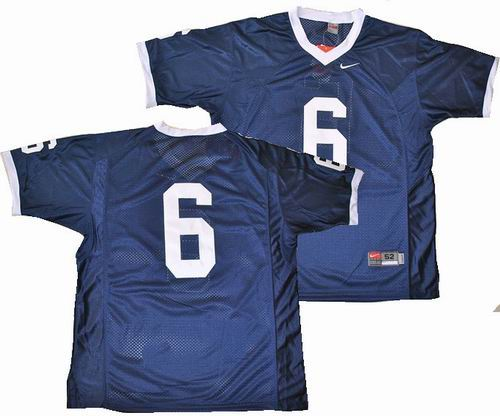ncaa Penn State Nittany Lions  6 Navy Blue College Football Jersey bd33db836